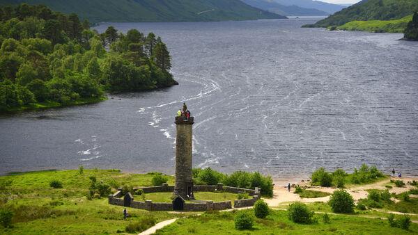 Glenfinnan Monument, Loch Shiel, Scotland