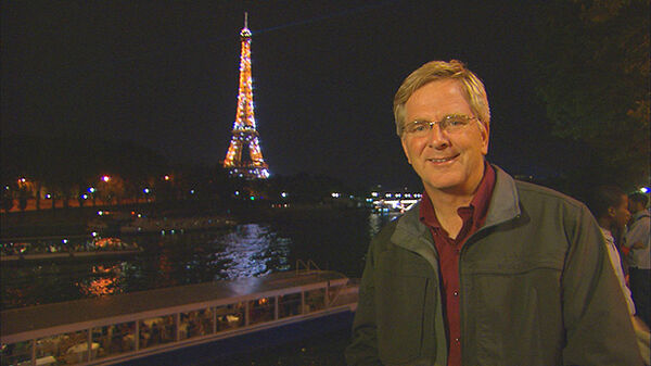 Rick and the Eiffel Tower
