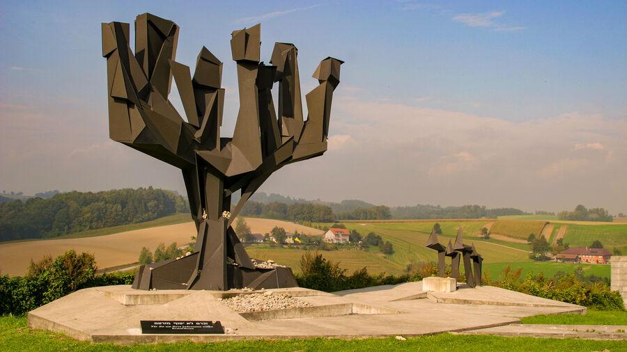 Jewish monument, Mauthausen Memorial, Mauthausen