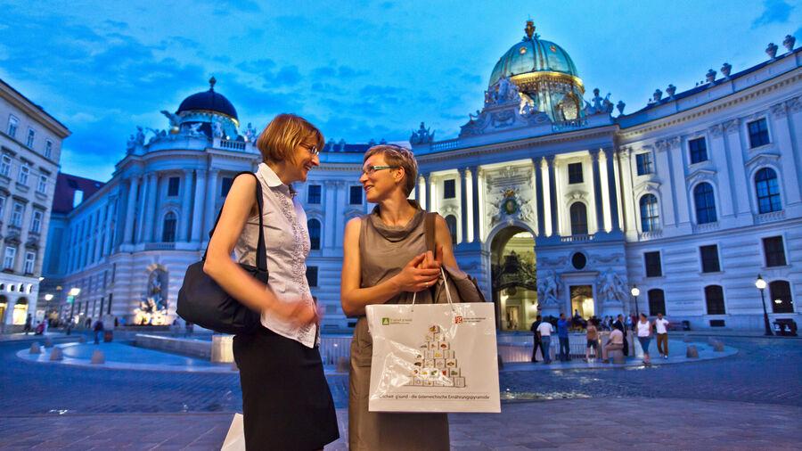 Michaelerplatz and Hofburg Palace, Vienna