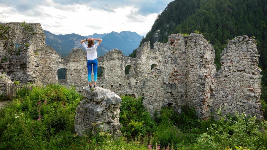 Ehrenburg Castle ruins, Reutte