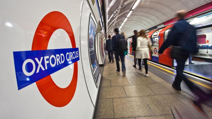 Oxford Circus Underground Station