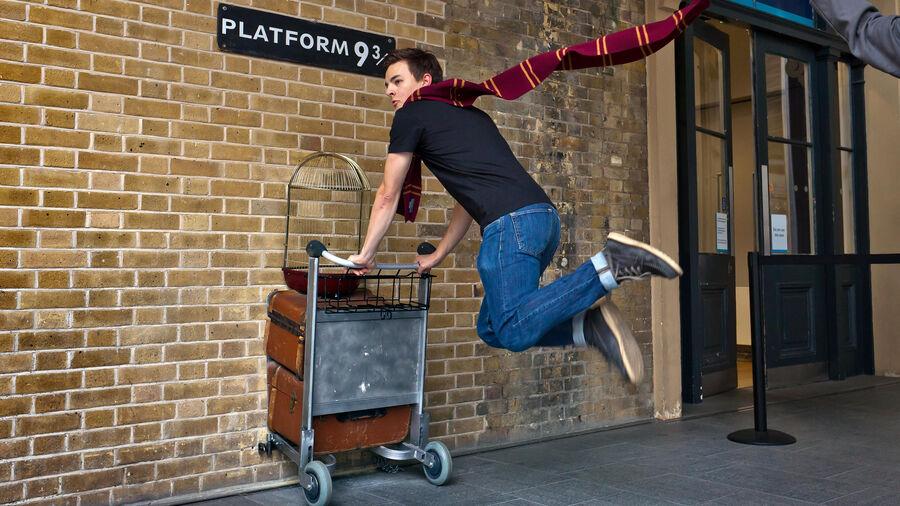 Platform 9¾, King's Cross Station