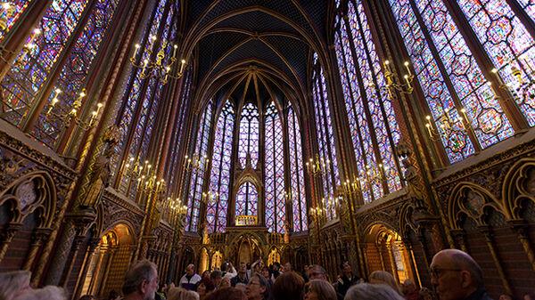 Sainte Chapelle windows