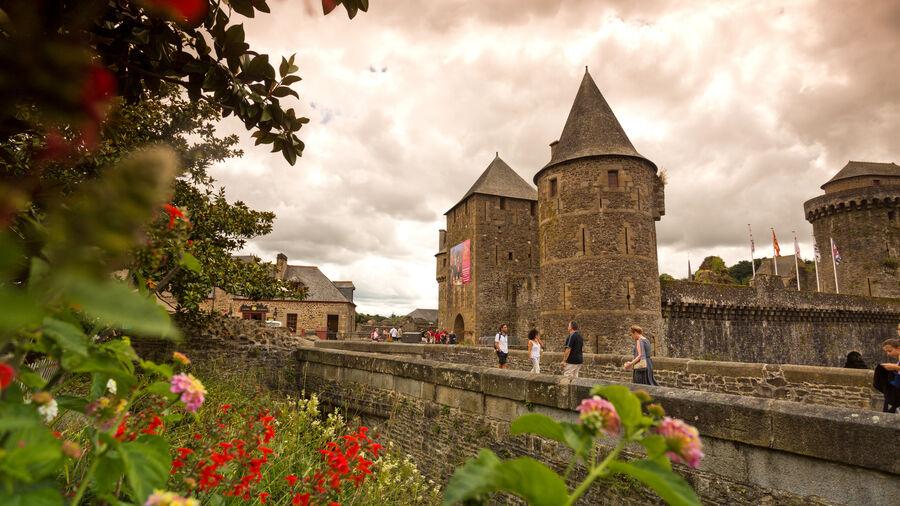 Château de Fougères, Brittany