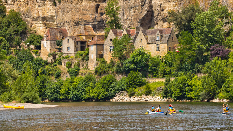 La Roque-Gageac, Dordogne River Valley