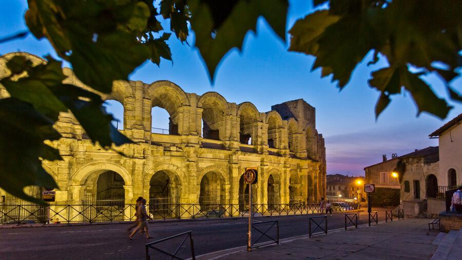 Roman arena, Arles, Provence
