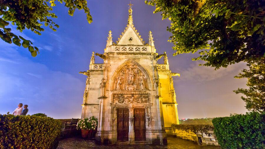 Chapelle Saint-Hubert, Château d'Amboise