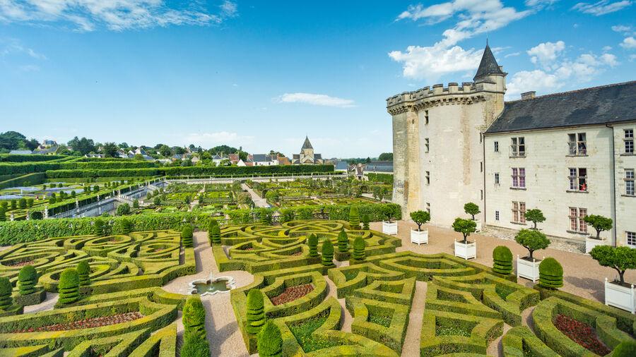 Gardens at Château de Villandry, Loire