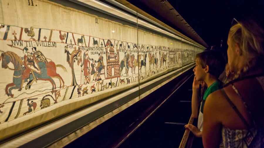 Bayeux Tapestry, Normandy