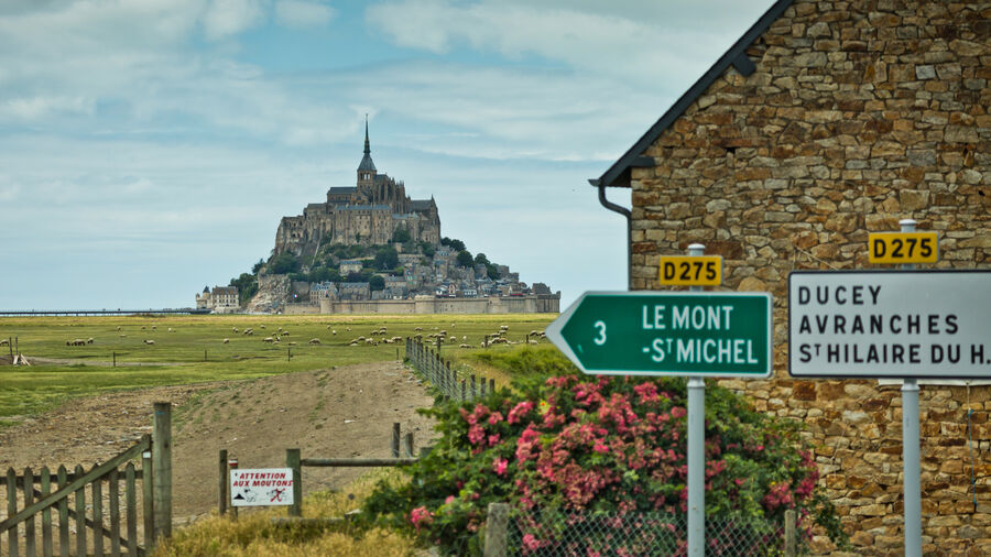 Mont St-Michel, Normandy