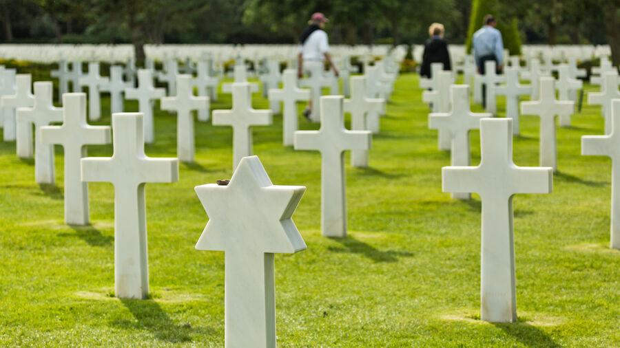 American Cemetery at Omaha Beach, Normandy