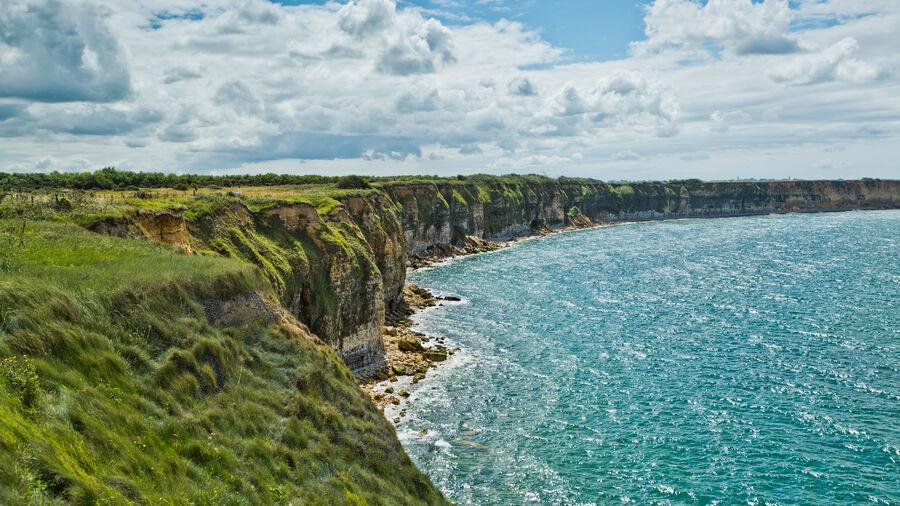 Norman coastline