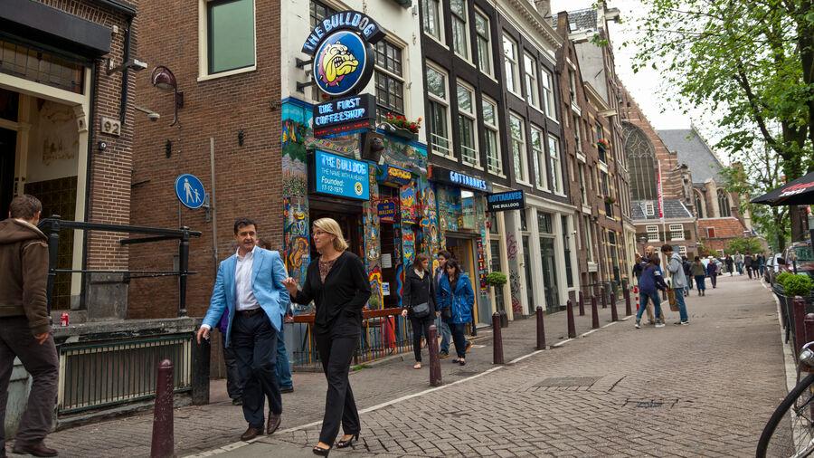 Bull Dog Coffeeshop, Amsterdam