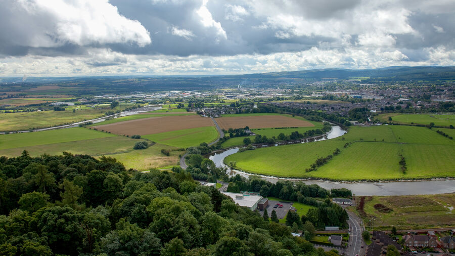 View from Wallace Monument, Stirling
