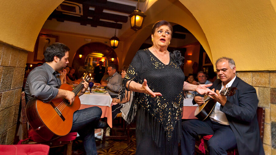 Fado performance, Lisbon