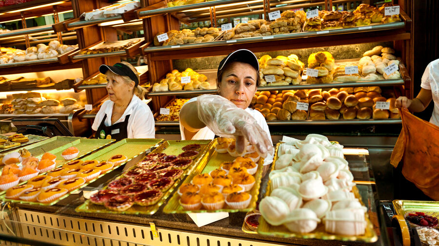 Bakery treats, Porto