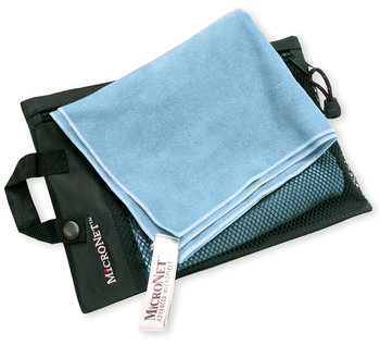 Sky Blue Super Size Micronet Travel Towel