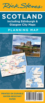 Scotland Travel Planning Map by Rick Steves