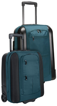 """Ravenna 17"""" & 21"""" Carry-On Bags - Black Color"""