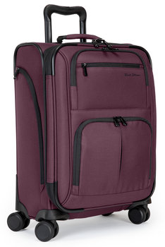 Rick Steves Carry-On Spinner Luggage, plum color