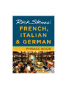 3-in-1 French, Italian, German Phrase Book
