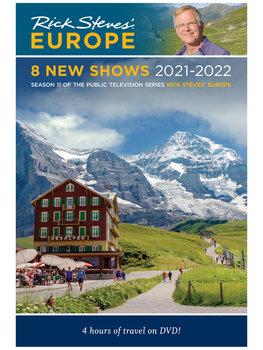 Rick Steves' Europe Season 11 DVD - 8 New Shows 2021-2022