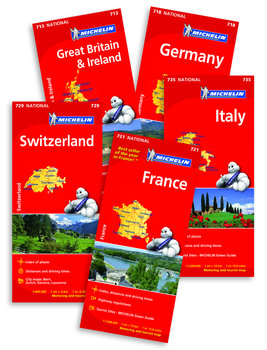 Road Maps Of Europe By Michelin Rick Steves Travel Store