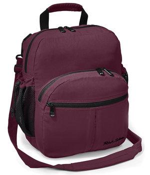 Plum Civita Shoulder Bag