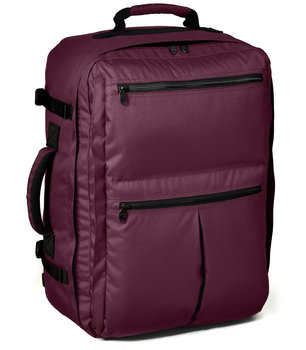 Plum Classic Back Door Bag