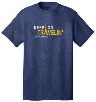 "Rick Steves' ""Keep on Travelin"" T-shirt"