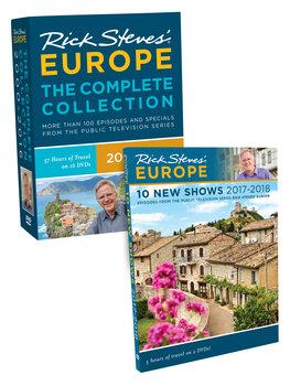 Rick Steves' Europe Complete Collection & Season 9 DVD Set.